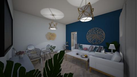 a124 - Living room - by dorotazulczyk1