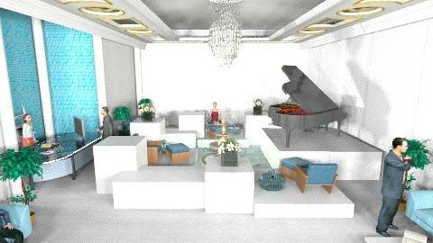 hotel lobby chic - by livia87