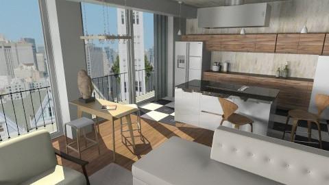 New Old  - Kitchen - by annagunbina
