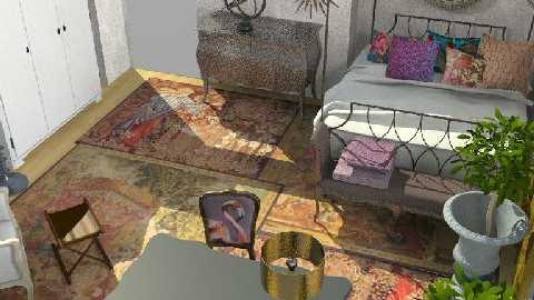 Tween-age girl's bedroom - Feminine - Kids room - by toadfool