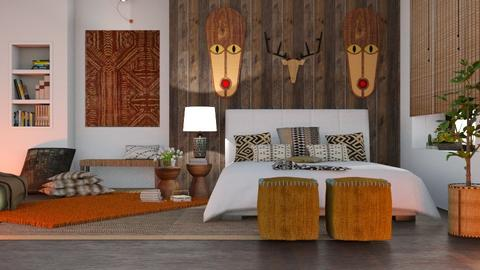 S_African Touch - Bedroom - by Shajia