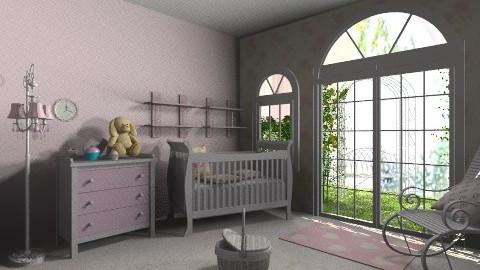 Baby Girl room - Vintage - Kids room - by bia_freitas