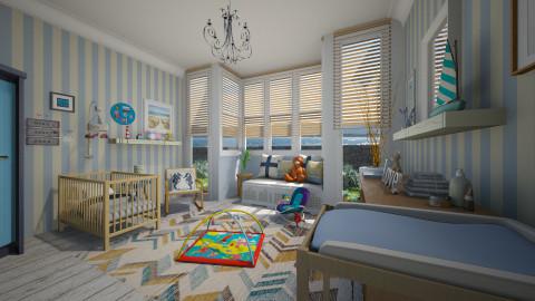 Baby Boy - Masculine - Kids room - by giulygi