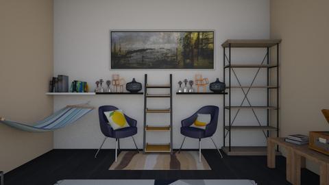 Geometric - Modern - Living room - by crustypear