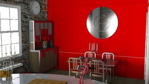 WarehouseConversion - Kitchen2 - Eclectic - Kitchen - by camilla_saurus