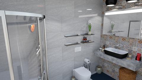 bathroom - by okularnica