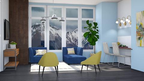 Mansion I Presume  - Modern - Living room - by Gurns