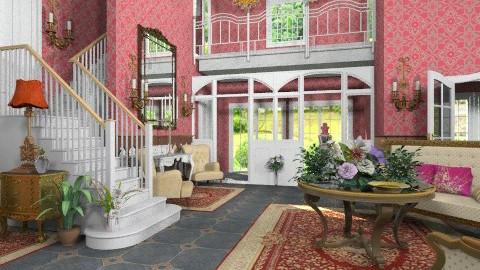 Le Grand Hall - Classic - Living room - by Bibiche