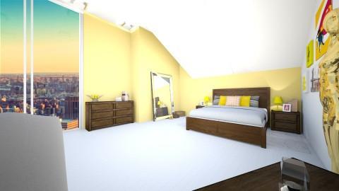 yellow xd - Bedroom - by bad carma