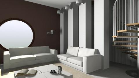 simple - Retro - Living room - by Rachel MiRaa