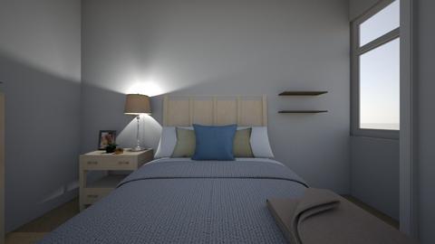 Jacks Guest Room - Bedroom - by varbs
