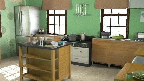 Barn conversion Kitchen - Classic - Kitchen - by HazelMP
