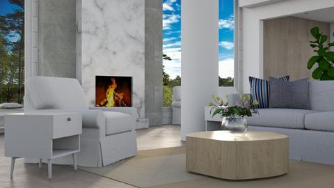 Open Lounge - Modern - Living room - by millerfam