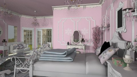 La Grande Suite - Classic - Bedroom - by Bibiche