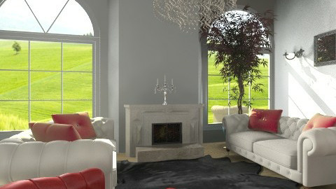 vintage - Living room - by Avatargirl