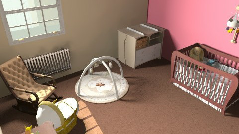 nursery, for gorgeous girls ;) - Modern - Kids room - by lorenemma