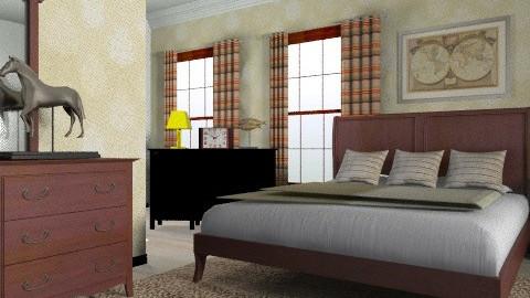 Sable - Classic - Bedroom - by Azmi_Ar