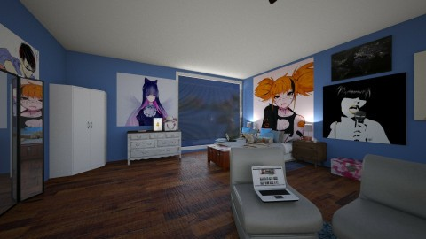 Eh - Bedroom - by WainbowKoneko