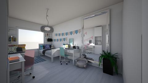 Kids double - Kids room - by maugoha