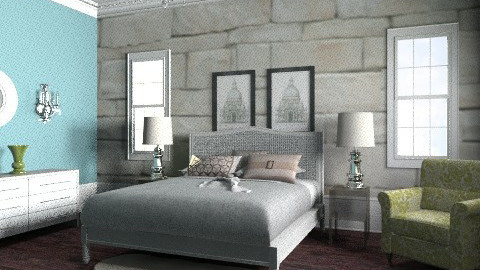 Airy - Classic - Bedroom - by Baustin