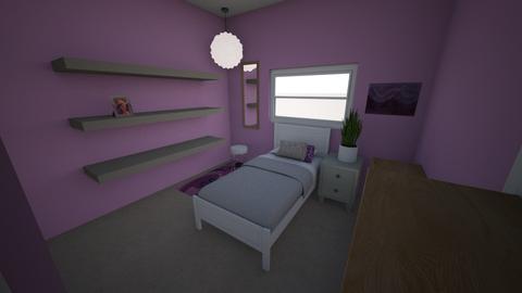 Brianna Bedroom - Bedroom - by breedom6