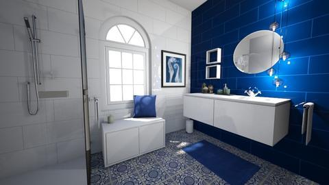 Smal home 3 - Bathroom - by AleksandraZaworska98