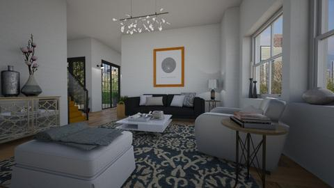 Modern home - Living room - by Tuitsi