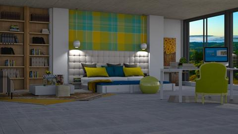 Yellow play - Bedroom - by pachecosilv