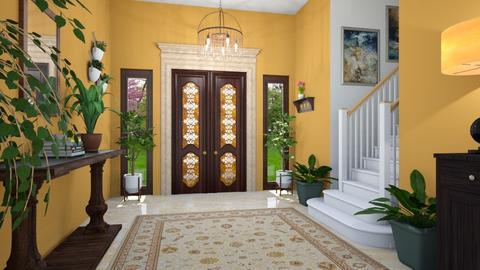 Urban Jungle Hallway - by Tzed Design