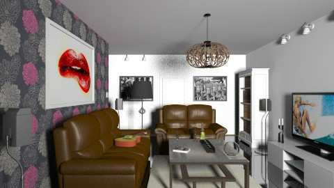 Livingroom 6 - Modern - Living room - by oxigen