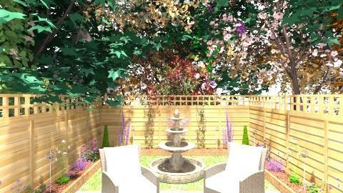 Outdoors - Rustic - Garden - by Liz Davidson