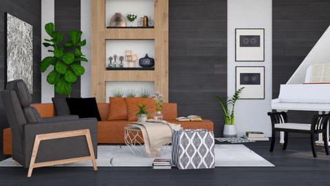 Urban - Modern - Living room - by millerfam