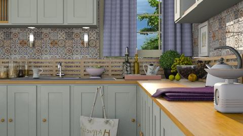 M_Vintage Kitchen2 - Kitchen - by milyca8