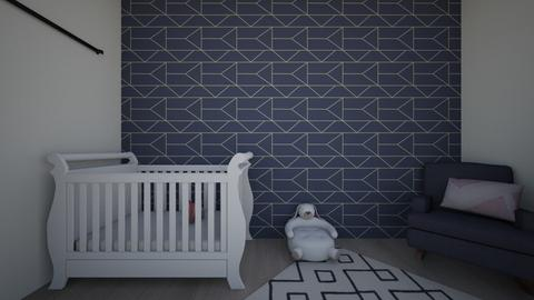 Baby girl nursery - Modern - Kids room - by Morganizer13