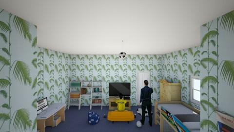boys bedroom - Vintage - Kids room - by harry122