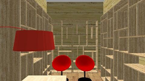 minha biblioteca - Rustic - Office - by angelicafranco