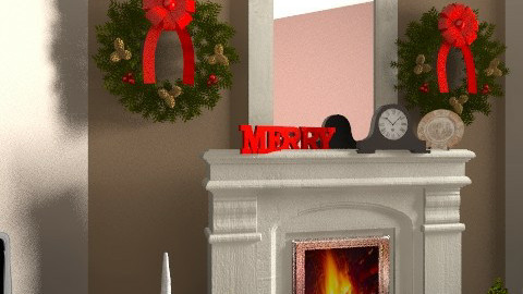 Christmas Living Room - Classic - Living room - by egrimsley