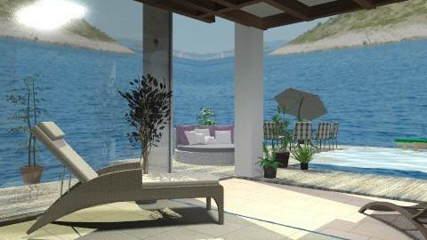 Beach- - Classic - Garden - by milyca8