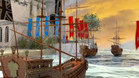 Sailing for the new world - Garden - by Bibiche