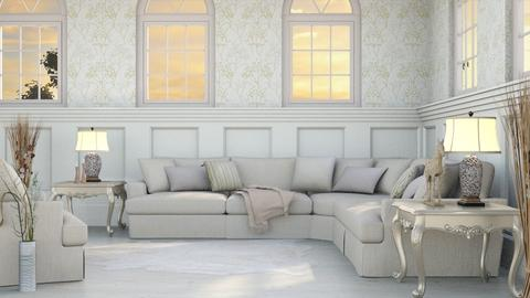 Country Cream - Modern - Living room - by millerfam
