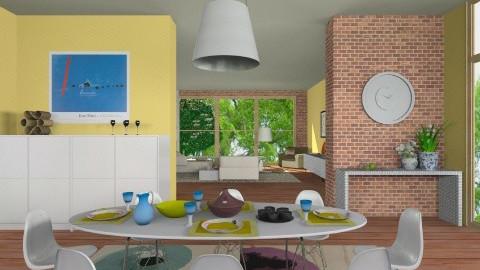 wellcome - Modern - Kitchen - by lilica