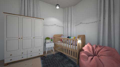 floral nursery - Kids room - by georgiarafferty14