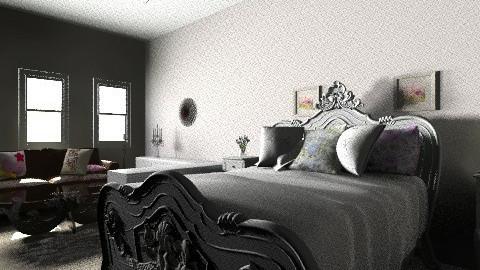 quarto casal com closet - Vintage - Bedroom - by kellassuncao