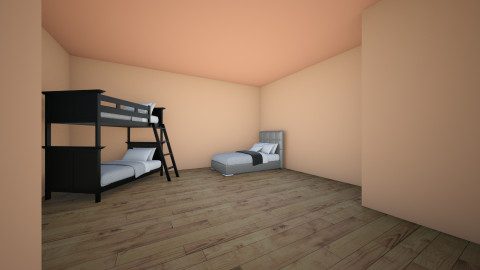 orphanage - Country - Bedroom - by Animalover4218
