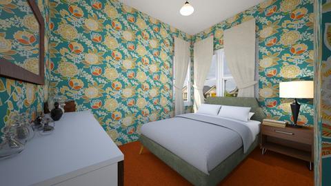 1950s Master Bedroom - Bedroom - by SammyJPili