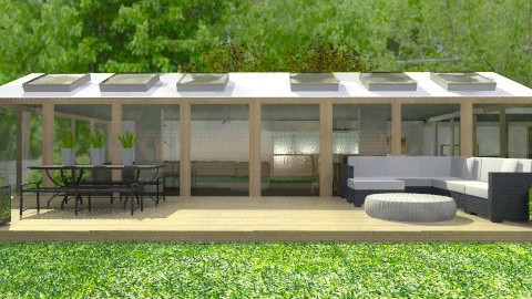 Modern Home in the Country - Modern - Garden - by Carliam