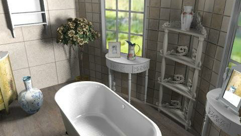 vintage chic - Country - Bathroom - by chelseajade