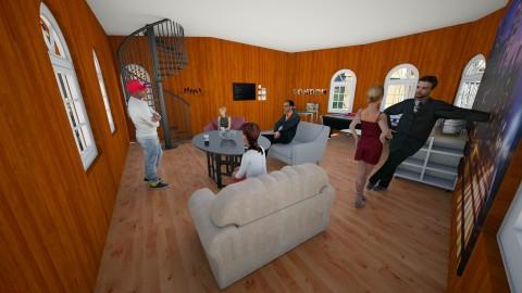 Hotel de estudiantes - Living room - by anonima_ella1420