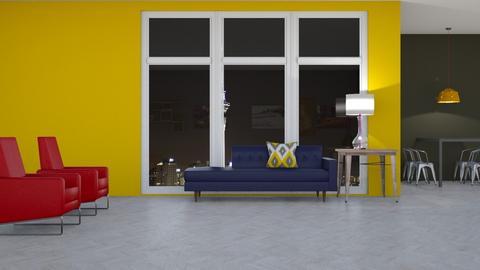 City 2 - Modern - Living room - by Gurns