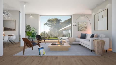 Living with Columns - Minimal - Living room - by Valkhan